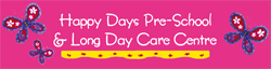 Happy Days Pre-School  Long Day Care Centre - Perth Child Care